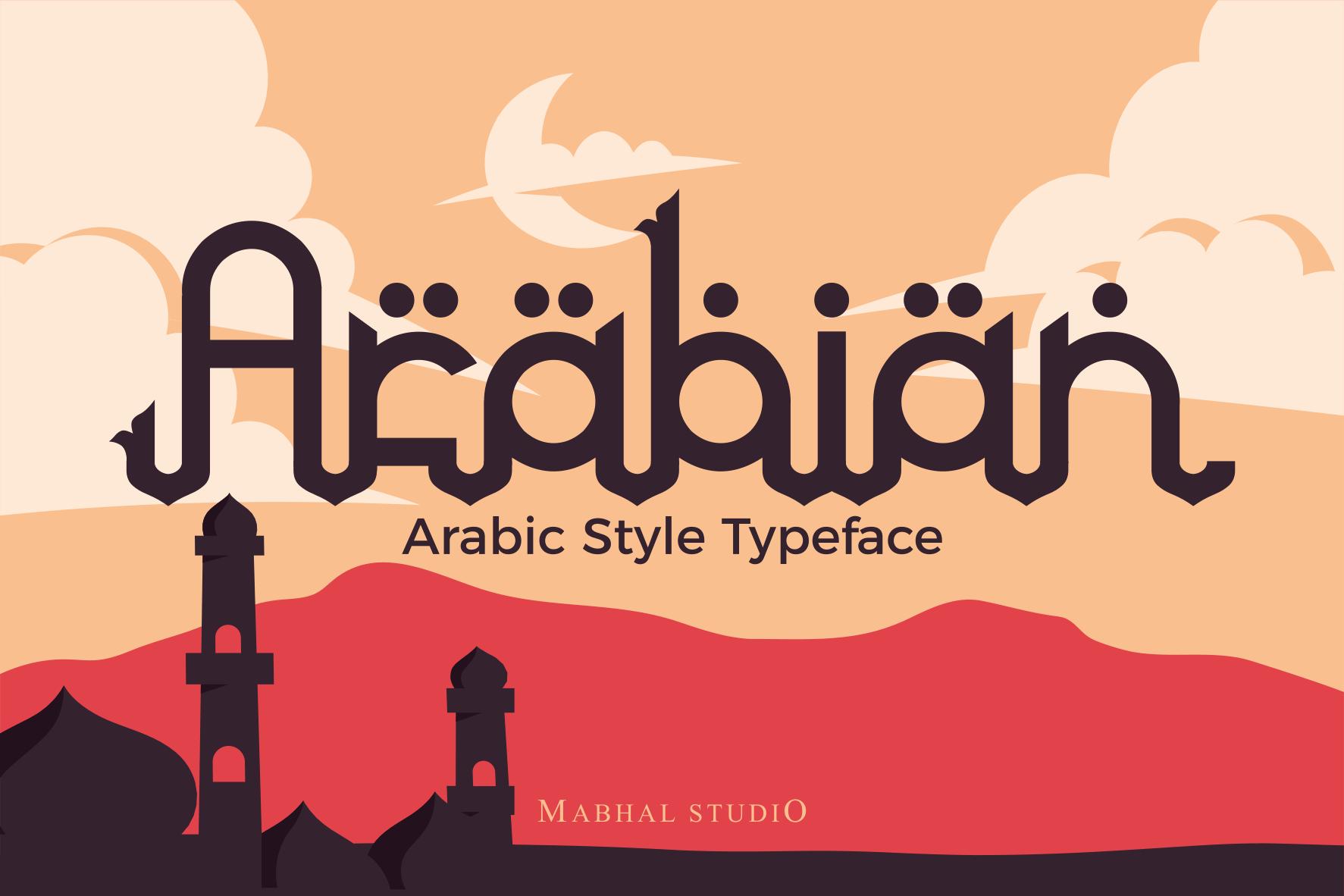 Arabian Font