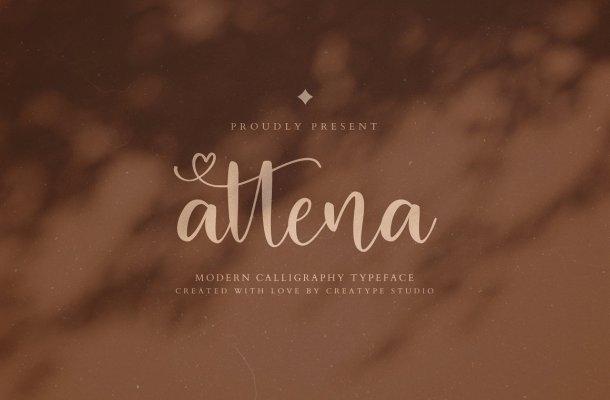 Attena Font