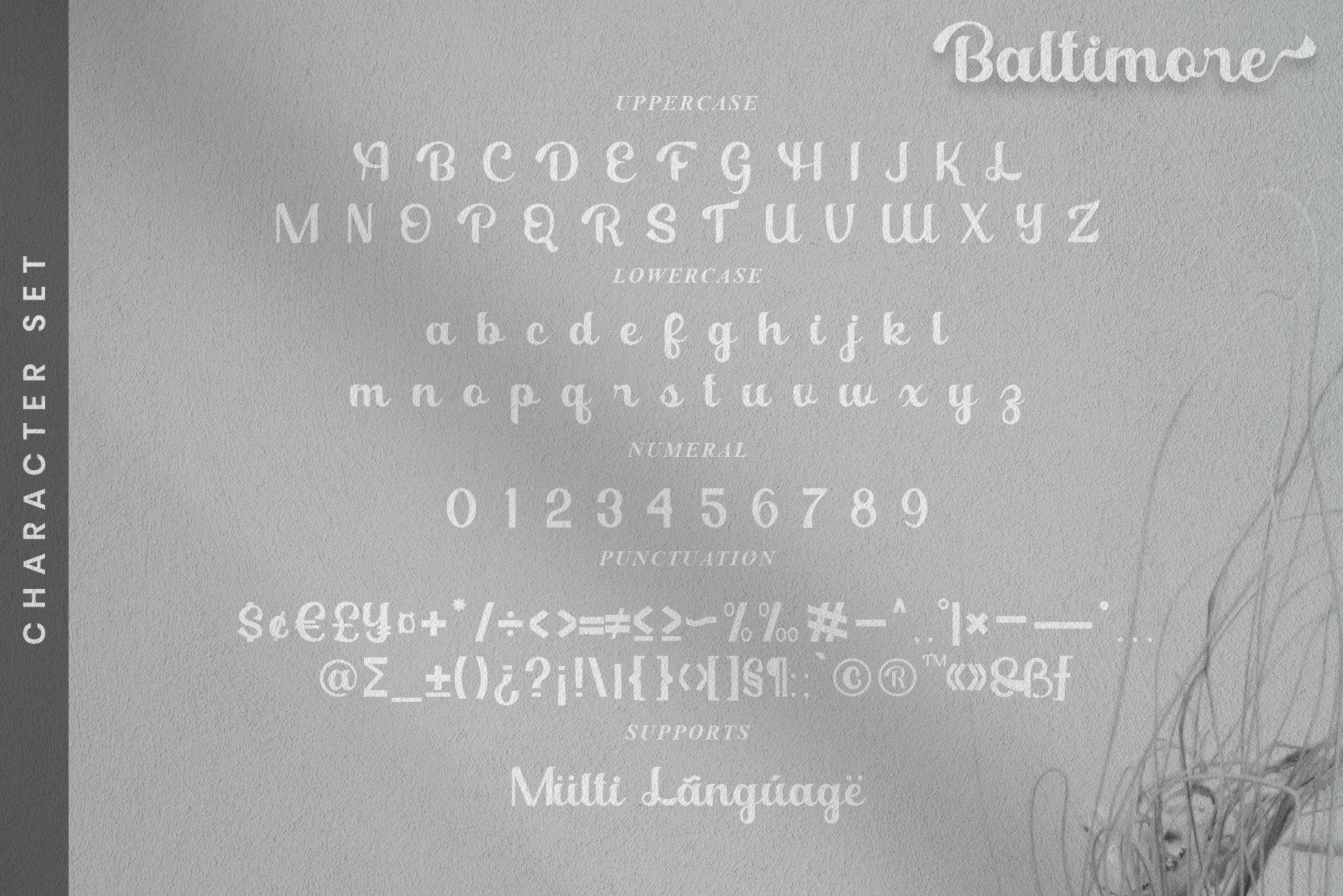 Baltimore Font-3