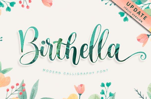 Birthella Font