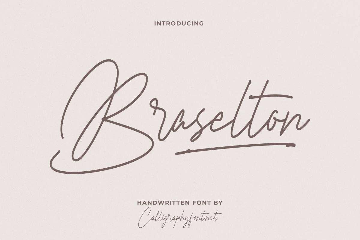 Braselton Font