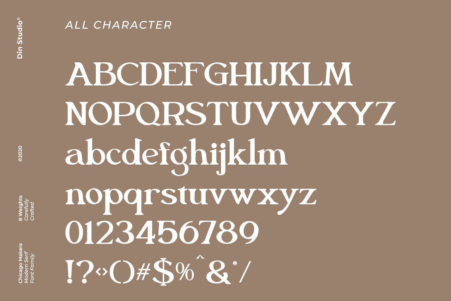 Chicago Makers Font-3
