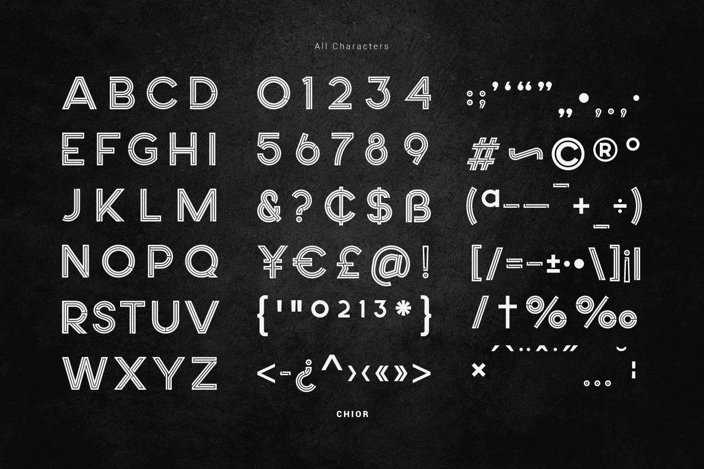 Choir Font-3