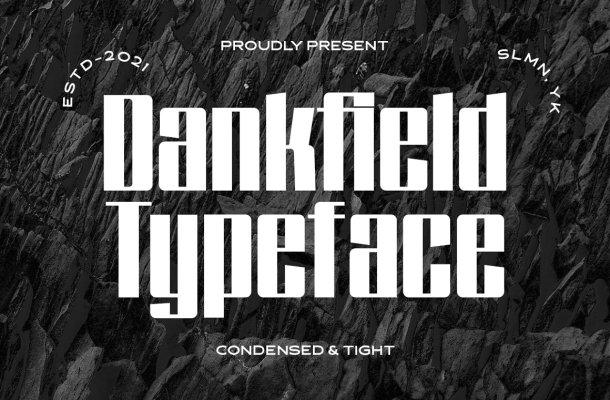 Dankfield Typeface