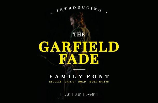 Garfield Fade Font