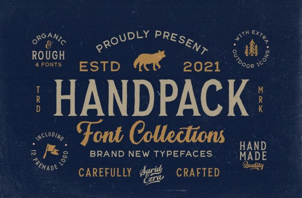 Handpack Font