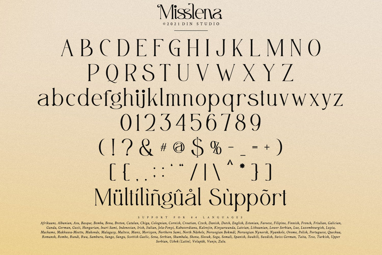 Misslena Font-3