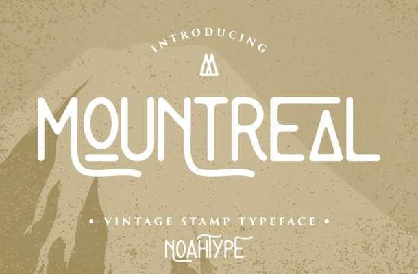 Mountreal Font