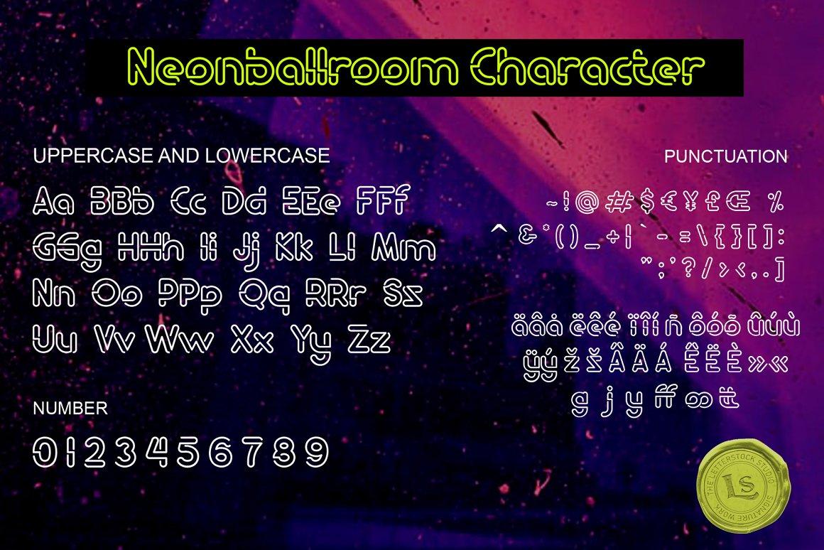 Neon Ballroom Font-3