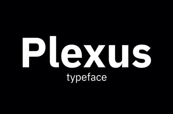 Plexus Font Family