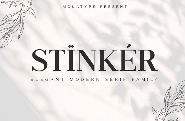 Stinker Font Family