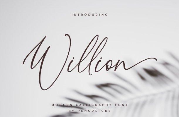Willion Font