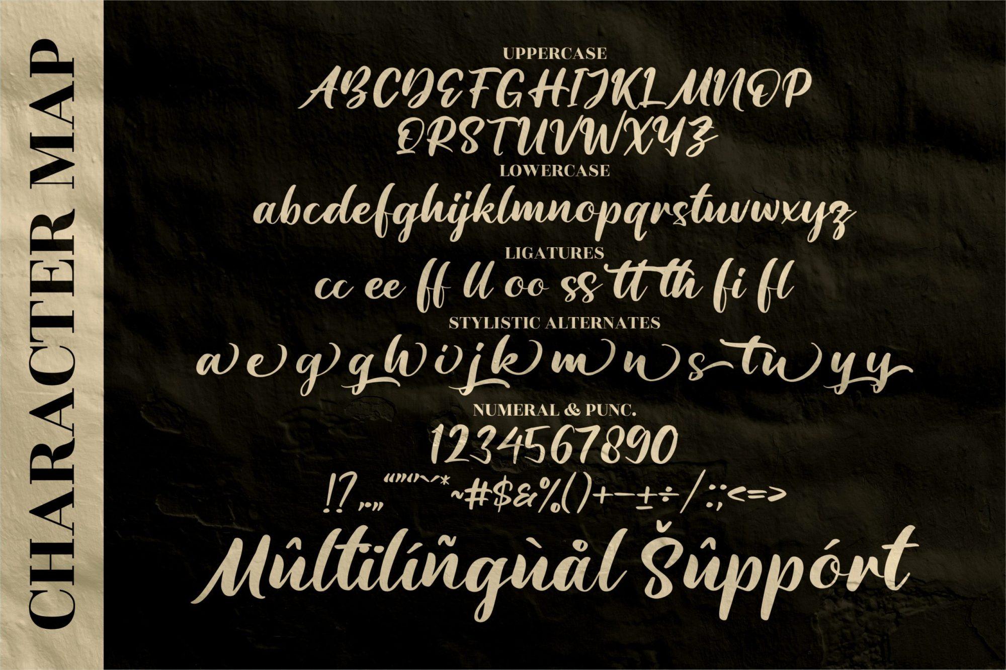 Amattera Million Font-3