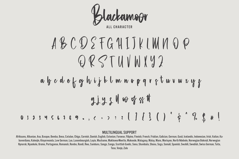 Blackamoor Font-3