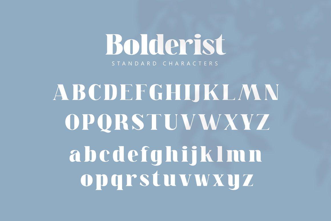Bolderist Font-2