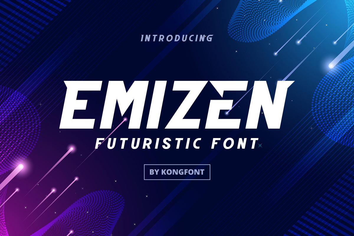 Emizen Font