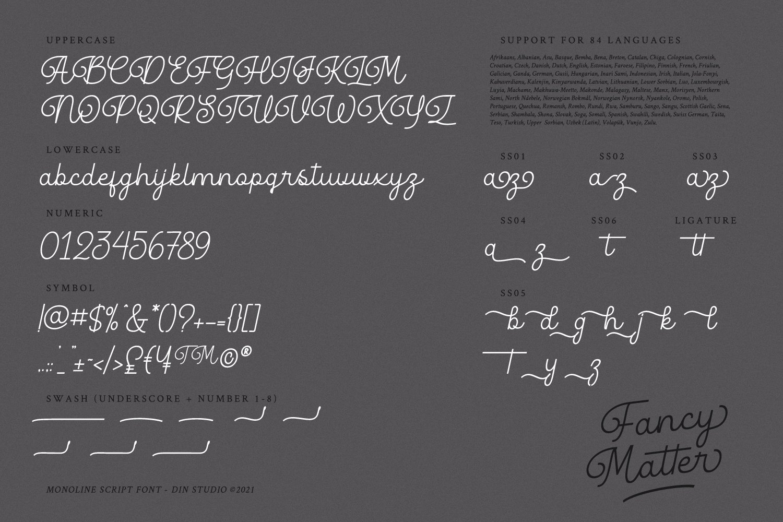 Fancy Matter Font-2