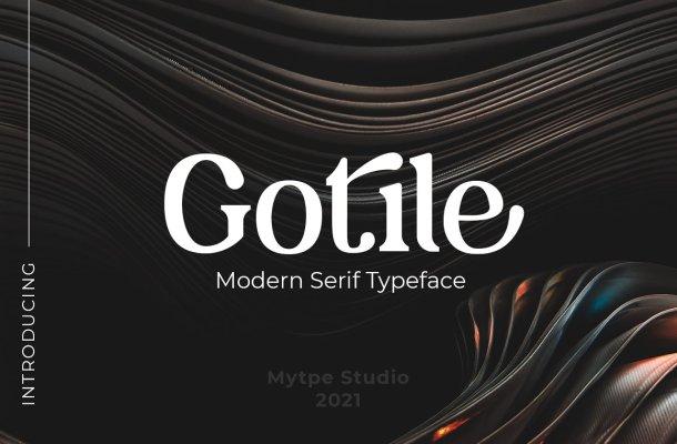 Gotile Font