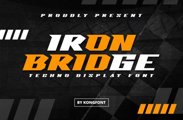 Iron Bridge Font