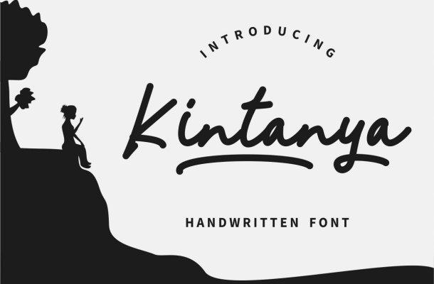 Kintanya Font