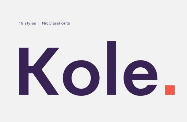 Kole Font