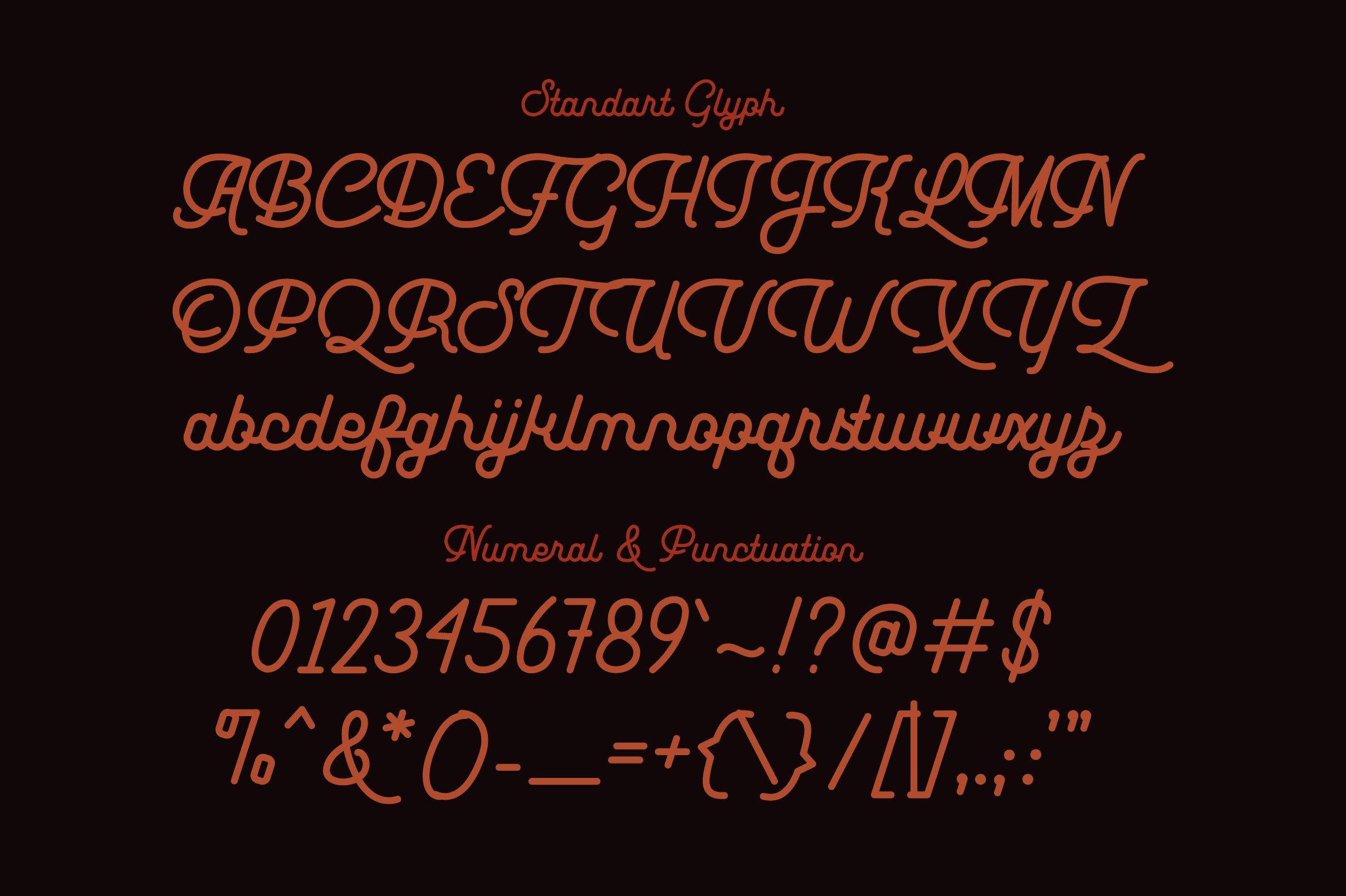 Leuthikline Font-3