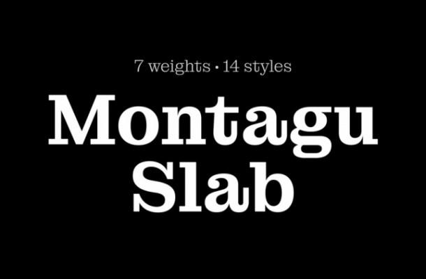 Montagu Font Family