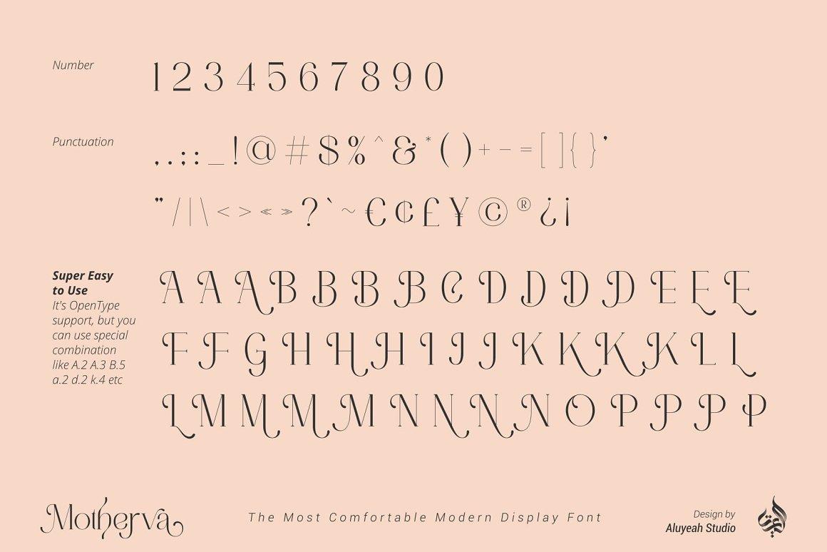 Motherva Font-3