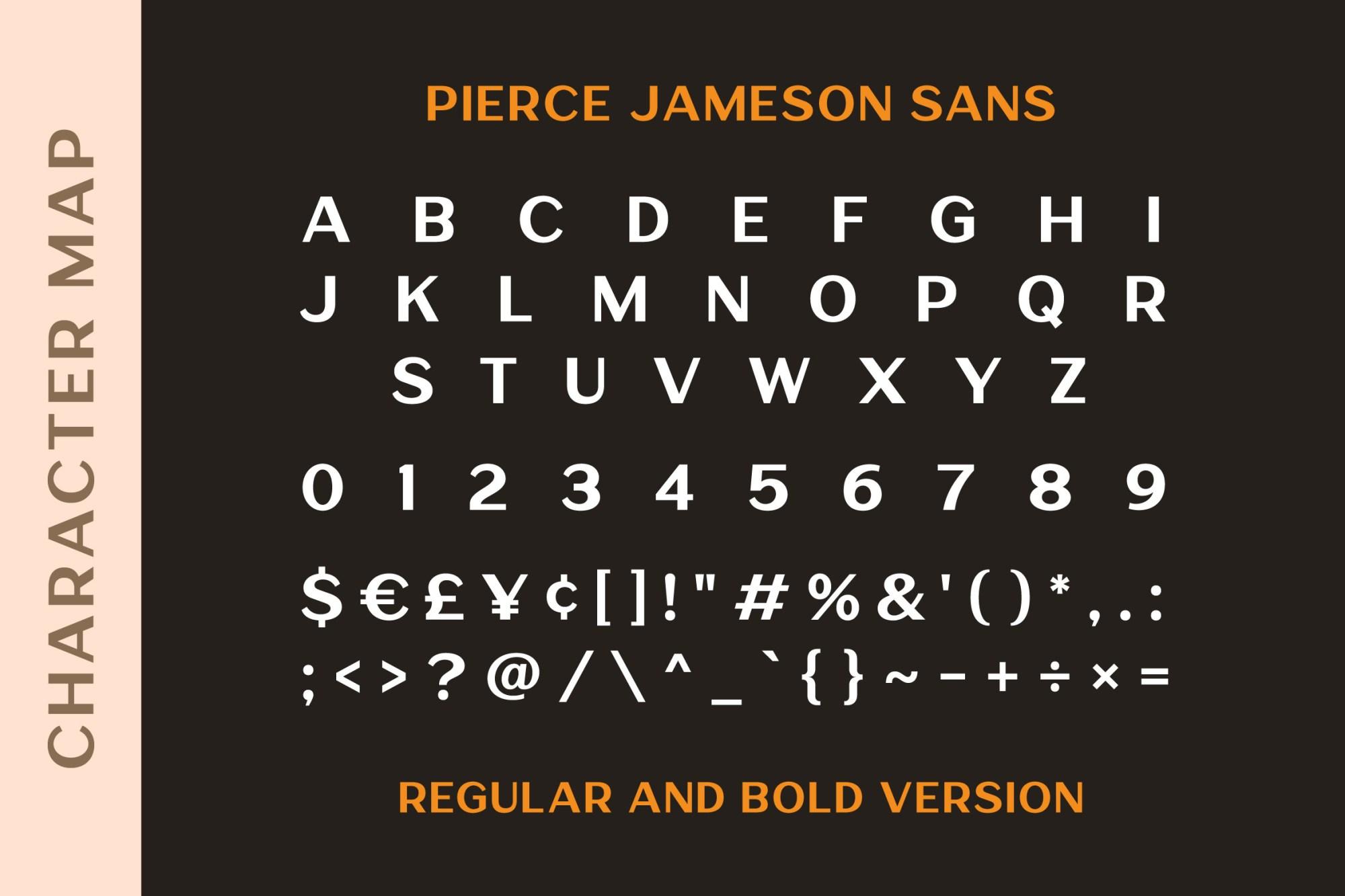 Pierce Jameson Font Duo-3