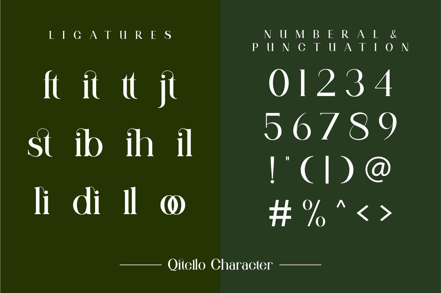 Qitello Font-3