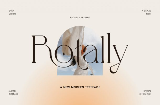 Rotally Font