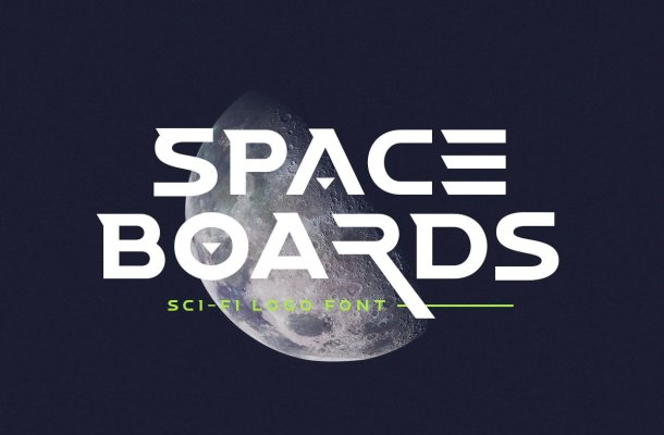 Space Boards Font