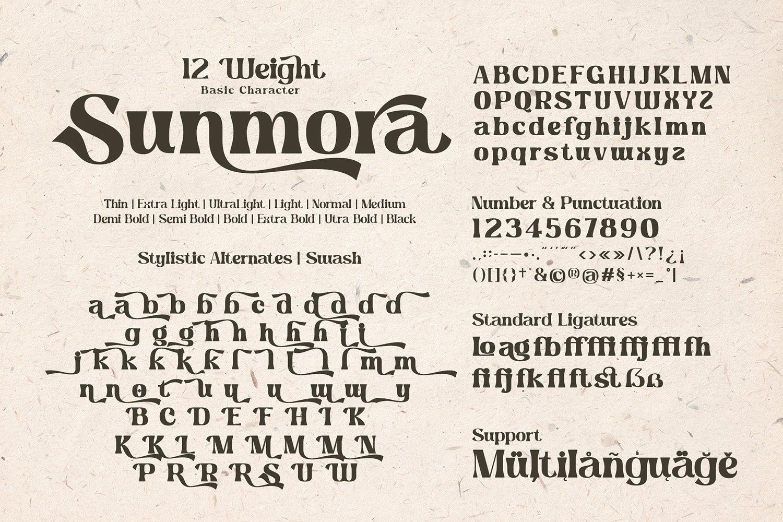 Sunmora Font-3