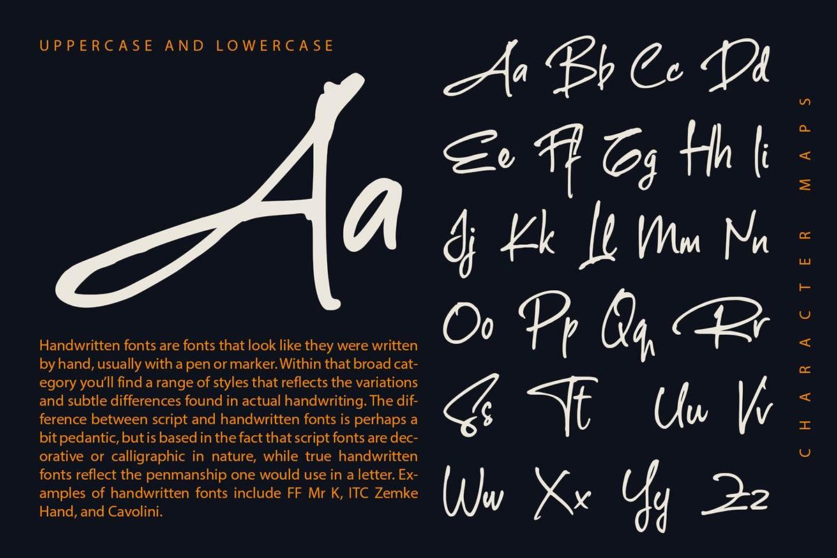The Rambler Font-2