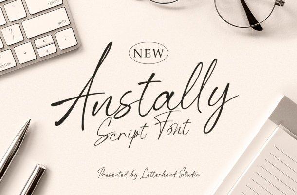 Anstally Font