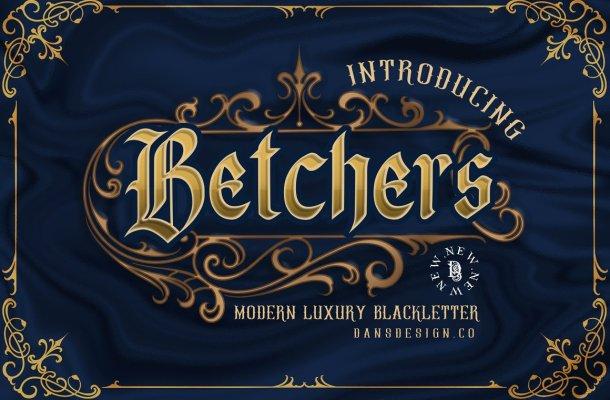 Betchers Font