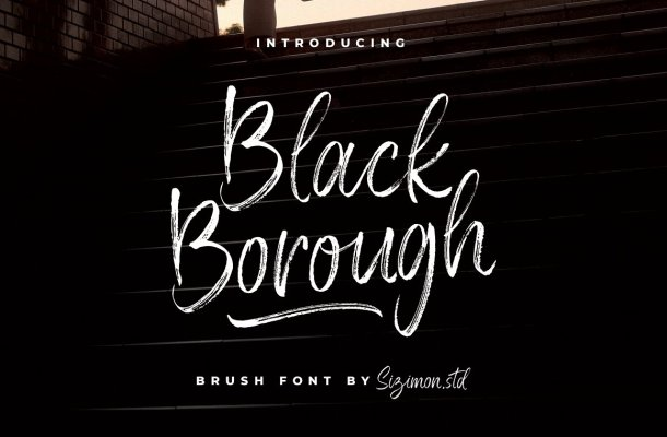 Black Borough Font