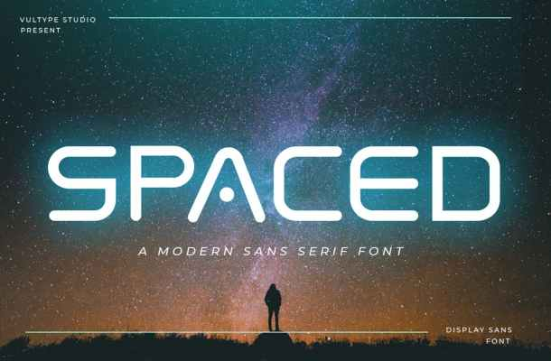 Spaced Font
