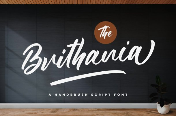 The Brithania Font