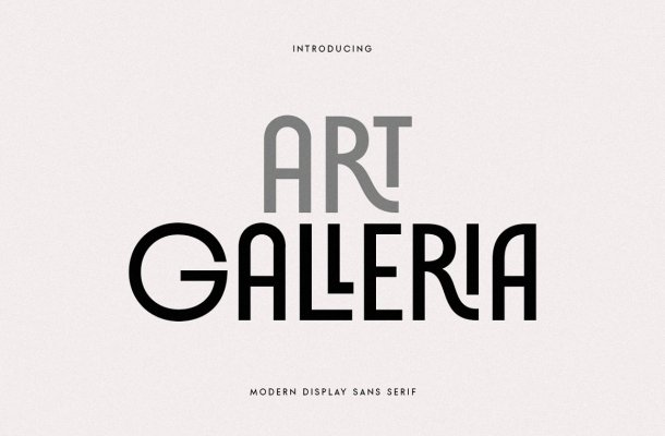 Art Galleria Font