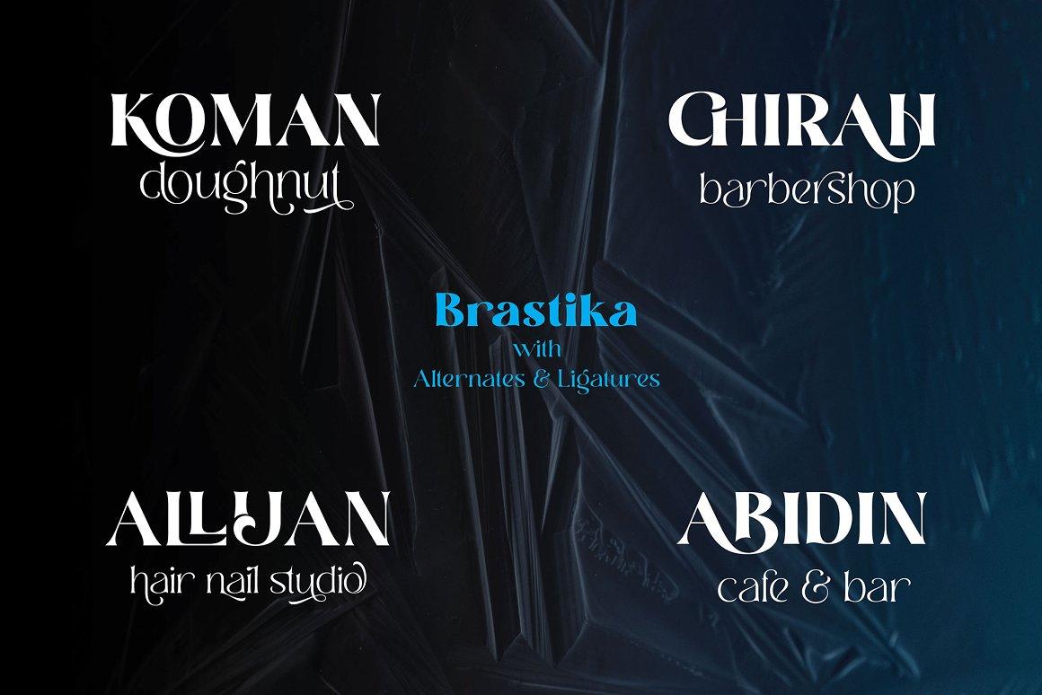 Brastika Font-2