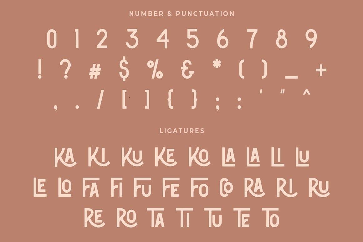 Classic Bronze Font-3