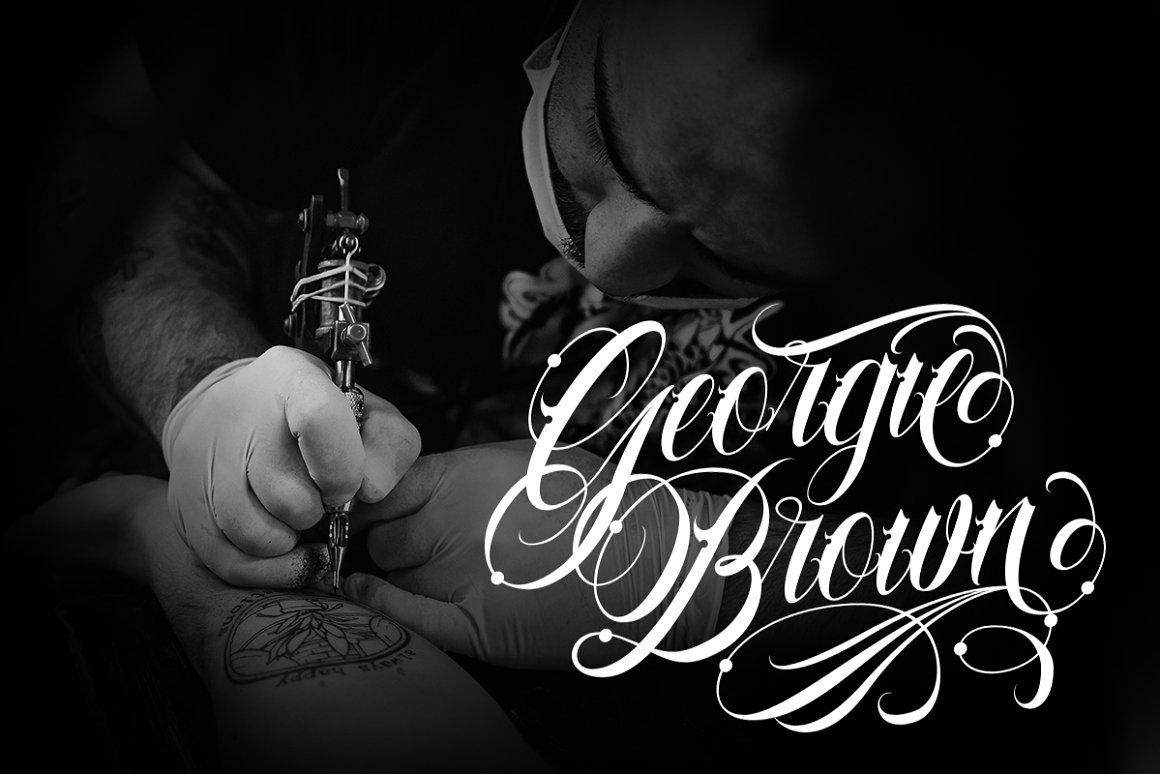 Familia Tattoo Font-2