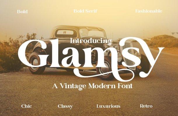 Glamsy Font