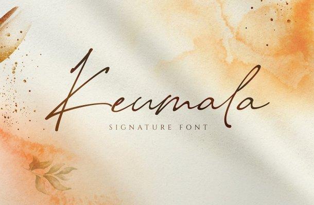 Keumala Font