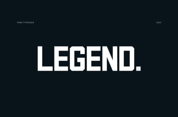 Legend Font