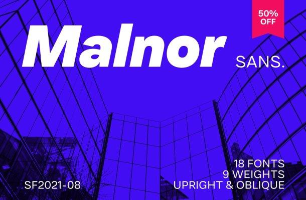 Malnor Sans Font Family