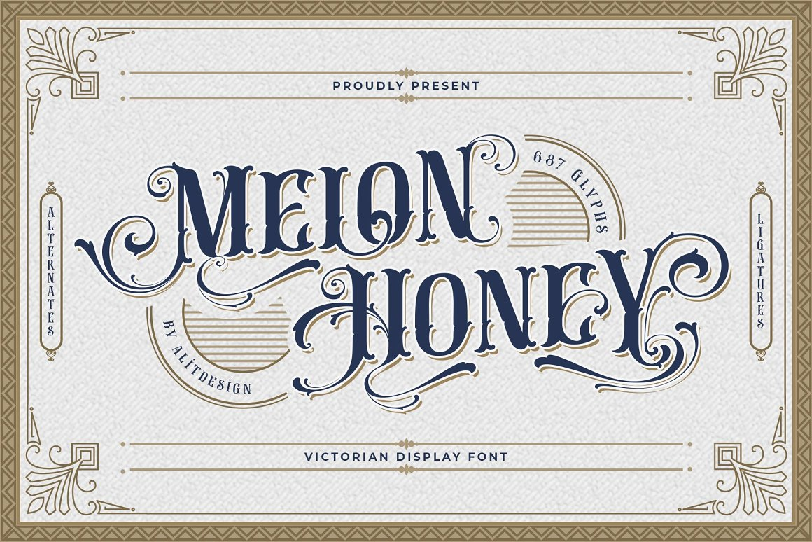 Melon Honey Font