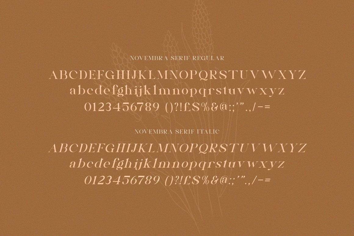Novembra Font-3
