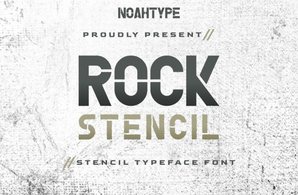 Rock Stencil